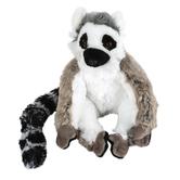 Wild Republic, Cuddlekins Ring Tailed Lemur Stuffed Animal, Gray, 8 inches