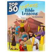 RoseKidz, Top 50 Instant Bible Lessons for Elementary, Paperback, 256 Pages, Ages 5-10