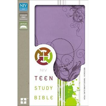 NIV Teen Study Bible, Duo-Tone, Purple