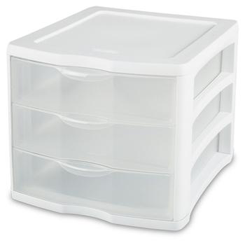 Clear View 3-Drawer Organizer