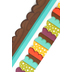 Woodland Tails Collection, Scalloped Double-Sided Border Trim, 38 Feet,