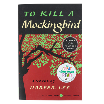To Kill a Mockingbird, by Harper Lee, Paperback, 336 Pages, Grades 8 and up