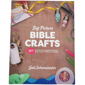 Big Picture Bible Crafts, 101 Simple and Amazing Crafts, Reproducible, 253 Pages, Grades PreK-5