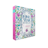 NLT One Year Creative Expressions Bible, Paperback