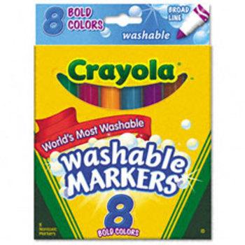 Crayola Washable Bold Markers - 8-pack