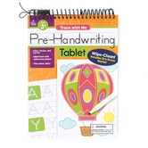 Carson-Dellosa, Trace with Me: Pre-Handwriting Tablet Activity Pad, 32 Pages, Grades Pre K-2