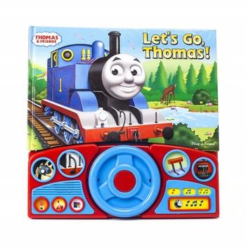 Let's Go Thomas Steering Wheel Sound Book, Thomas & Friends, by Phoenix International, Sound Book