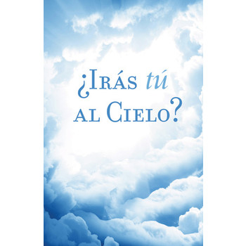 Good News, Are You Going to Heaven Spanish Tracts, Set of 25 Tracts
