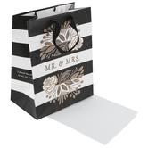 DaySpring, Mr. & Mrs. Medium Gift Bag, 9 3/4 x 7 3/4 Inches