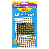 TREND enterprises, Inc., Little Flyers superSpots® & superShapes Stickers Variety Pack, 2000 Stickers