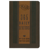 Teen to Teen: 365 Daily Devotions by Teen Guys for Teen Guys, Brown and Tan, Imitation Leather