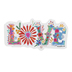 Natural Life, Love Floral Word Shaped Sticker, Vinyl, 4 inches