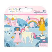 Stephen Joseph, Princess Magnetic Play Set, Pack of 44