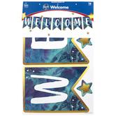 Carson-Dellosa, Galaxy Welcome Bulletin Board Set, 16 Pieces