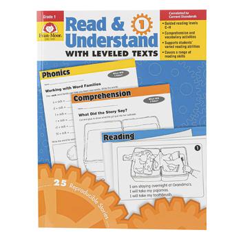 Evan-Moor, Read & Understand with Leveled Texts, Grade 1