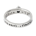 Spirit & Truth, True Love Waits, Princess Solitaire Purity Ring, Stainless Steel, Size 6