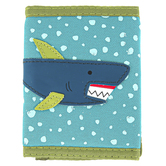 Stephen Joseph, Shark Tri-Fold Wallet, Ages 3 to 6 Years Old, 3 1/2 x 4 1/2 inches
