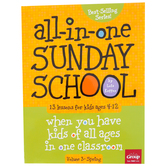 Group Publishing, All-in-One Sunday School Volume 3: Spring, 13 Lessons, Paperback, Ages 4-12