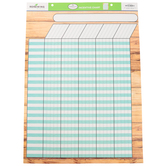 Farmhouse Lane Collection, Customizable Incentive Chart, 17 x 22 Inches, 1 Each