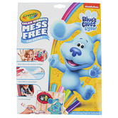 Crayola, Color Wonder Mess Free Nickelodeon's Blues Clues & You Coloring Pages and Markers Set, 18 pages, Ages 3 and up