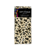 Brother Sister Design Studio, Tissue Paper, Leopard Print, 20 x 20 inches, 8 Sheets