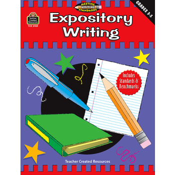 Teacher Created Resources, Expository Writing, Grades 3 to 5, Paperback, 144 Pages