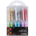 Tree House Studio, Spangles and Holographic Mix Glitter Pack, Assorted Colors, 6 Count
