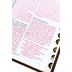 NLT Holy Bible, Giant Print, Duo-Tone, Brown and Tan, Thumb Indexed