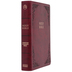 CSB Super Giant Print Reference Bible, Imitation Leather, Burgundy