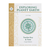 Memoria Press, Exploring Planet Earth Teacher Key and Tests, Paperback, Grades 6-8