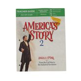 Master Books, America's Story Volume 2: Teacher's Guide, by Angela O'Dell, Grades 3-6