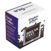 Kingdom Growers Coffee, Breakfast Blend Single Serve Cups, 16 K-Cups