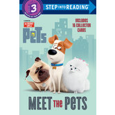Meet the Pets, The Secret Life of Pets, Level 3 Reader, by Mary Man-Kong, Paperback