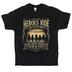 Kerusso, 1 Corinthians 15:20-22 Heroes Ride, Men's T-Shirt, Black, 2X-Large