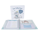 Christian Art Gifts, Our Baby Boys First Year Memory Book, Hardcover, 10 3/4 x 10 1/2 inches