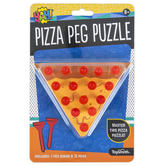 Toysmith, Pizza Peg Puzzle Game, 5 inches