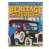 BJU Press, Heritage Studies 5 Student Activity Manual Answer Key, 4th Edition, Grade 5