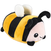 Brother Sister Design Studio, Bee Plush, 7 1/8 x 4 1/2 Inches