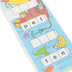 Didax, Unifix Word Ladders: CVC Words Activity Cards, Set of 12, 3 x 16-Inches, Grades PreK-2