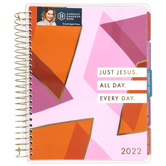 DaySpring, Candace Cameron Bure, Just Jesus Agenda Planner 18-Month, 2021-2022, 7 x 9 x 1 1/2 inches
