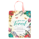 Medium You Are Loved Gift Bag, Paper, Multi-Colored