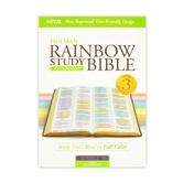 NIV Rainbow Study Bible, Imitation Leather, Multiple Colors Available