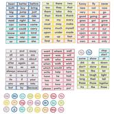 Schoolgirl Style, Just Teach Word Wall Bulletin Board Set, 202 Pieces, Grades PK-2