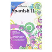 Carson-Dellosa, Skill Builders Spanish II Middle School Workbook, Reproducible, 80 Pages, Grades 6-8