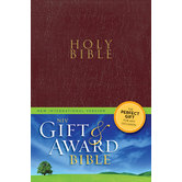 NIV Gift & Award Bible, Paperback, Multiple Colors Available