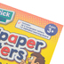 Junior Learning, Multi-stick Sandpaper Letters Set, 10 x 8 Inches, Ages 3 and up