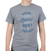 Rooted Soul, Good Fathers Learn From The Best Father, Men's Short Sleeve T-shirt, Graphite Heather, S-2XL
