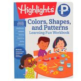 Highlights, Preschool Colors, Shapes, and Patterns Learning Fun Workbook, Paperback, 48 Pages, Grade PreK