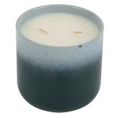 Beach Getaway Ceramic Jar Candle, Blue, 16 ounces