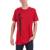 NOTW, Ephesians 6:17 Sword of the Spirit, Men's Short Sleeve T-shirt, Red, S-2XL